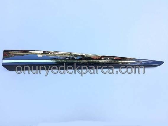 801861012R 808209212R Renault Clio 4 Sağ Ön Kapı Bandı Nikelajı Komple